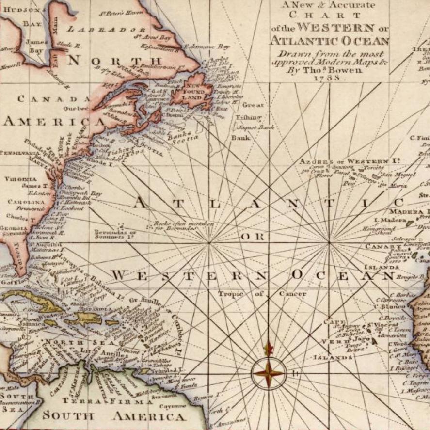 Carte Atlantique